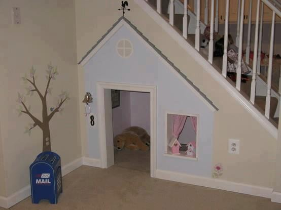niche sous escalier. Black Bedroom Furniture Sets. Home Design Ideas