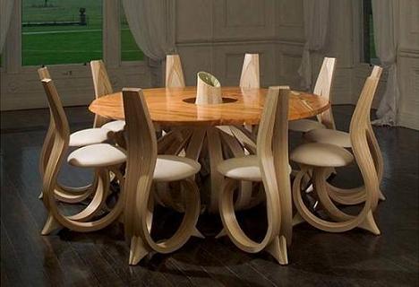 chaises salle a manger originales