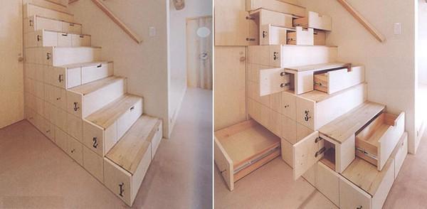 Escalier à tiroirs  abenchaalors.fr