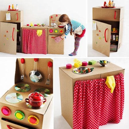 cuisine en carton. Black Bedroom Furniture Sets. Home Design Ideas