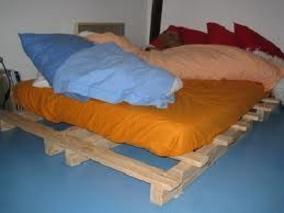 sommier palette. Black Bedroom Furniture Sets. Home Design Ideas