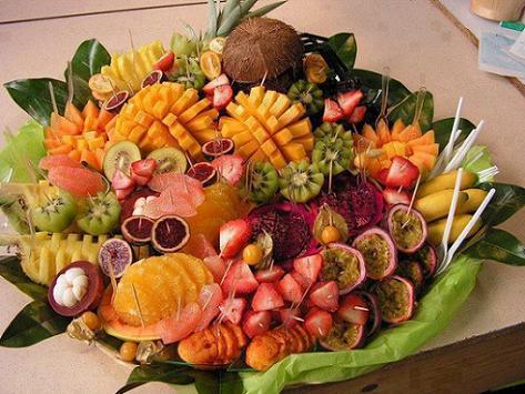 Plateau de fruits for Art et cuisine tahiti