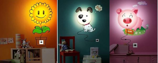 lumi re chambre d enfant. Black Bedroom Furniture Sets. Home Design Ideas