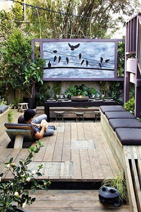 Deco Terrasse Zen Fourlon