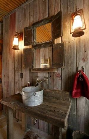 Salle de bains rustique | abenchaalors.fr
