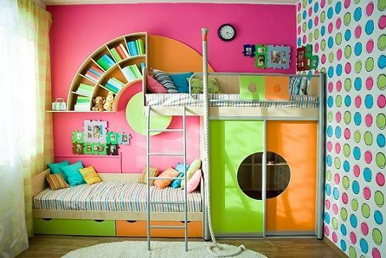 Chambre colorée | abenchaalors.fr