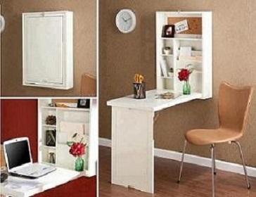 bureau gain de place. Black Bedroom Furniture Sets. Home Design Ideas