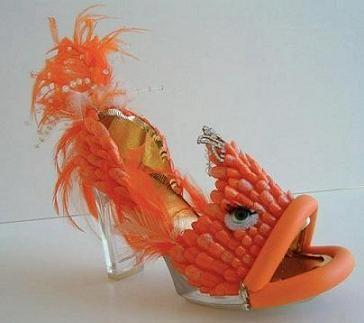 Chaussures poisson rouge for Acheter poisson rouge en gros