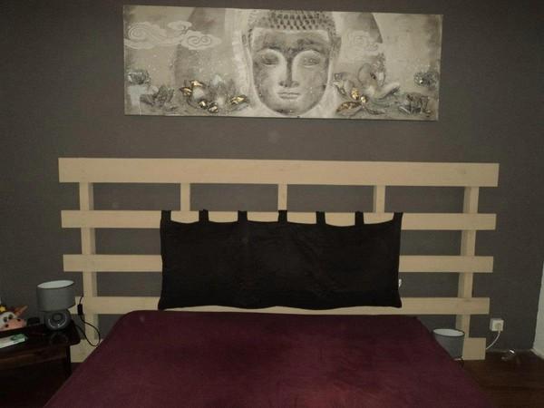 T te de lit palette - Tete de lit facile a faire ...