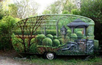caravane nature