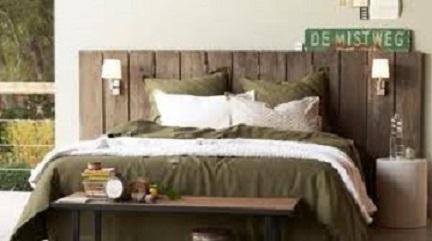 T te de lit palette - Fabriquer sa tete de lit ...