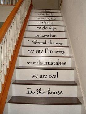 Escalier peint | abenchaalors.fr