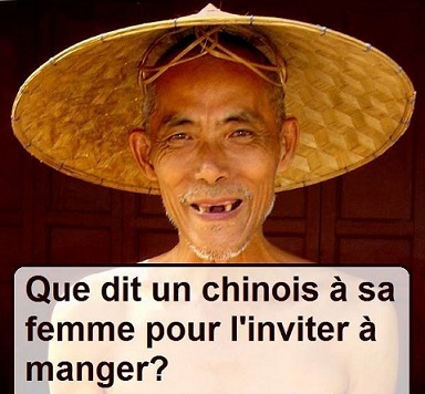 histoire drole chinois