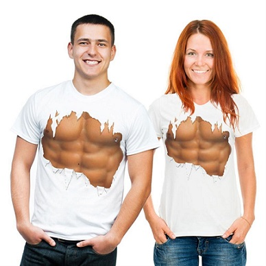 t shirt abdominaux